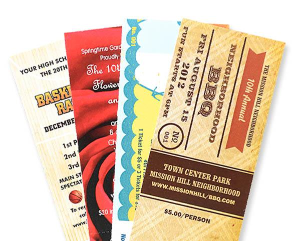 sell more event tickets with software and custom printing