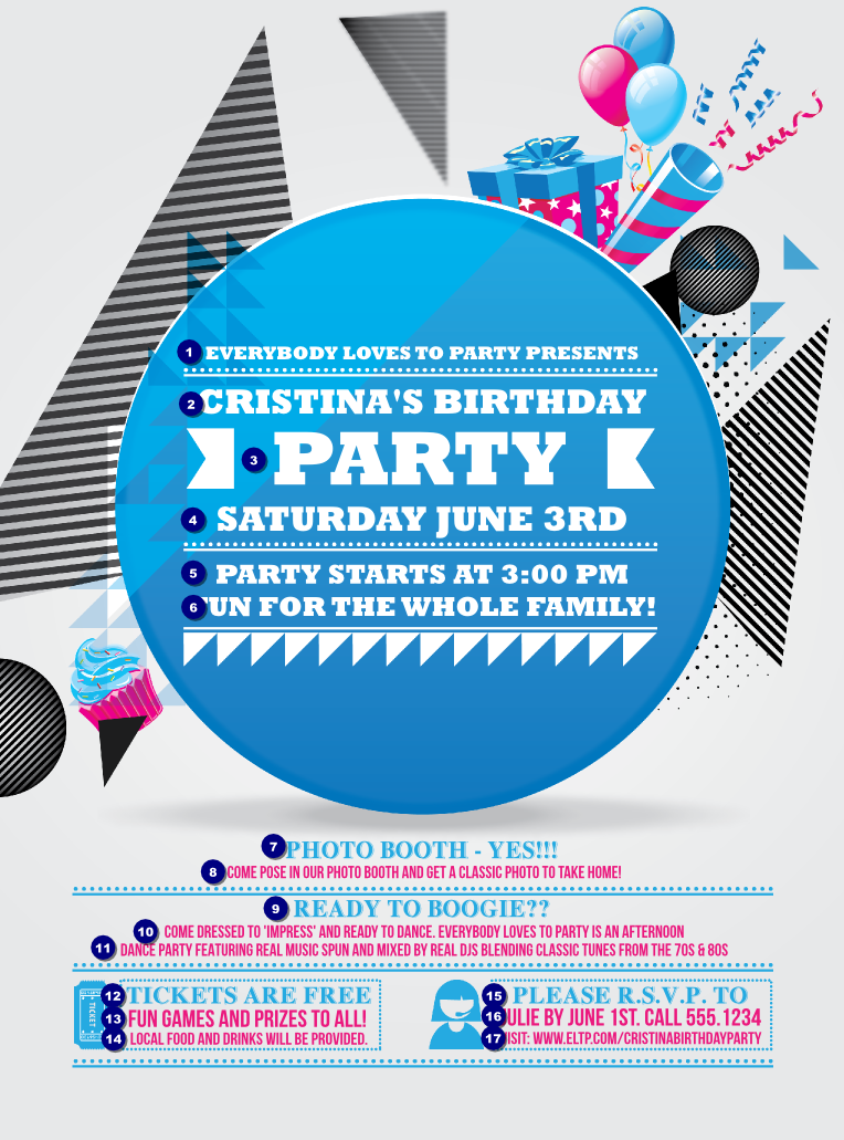 Free download birthday bash party flyer events flyers hd wallpaper