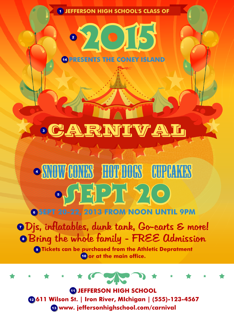 Carnival Flyer | TicketPrinting.com