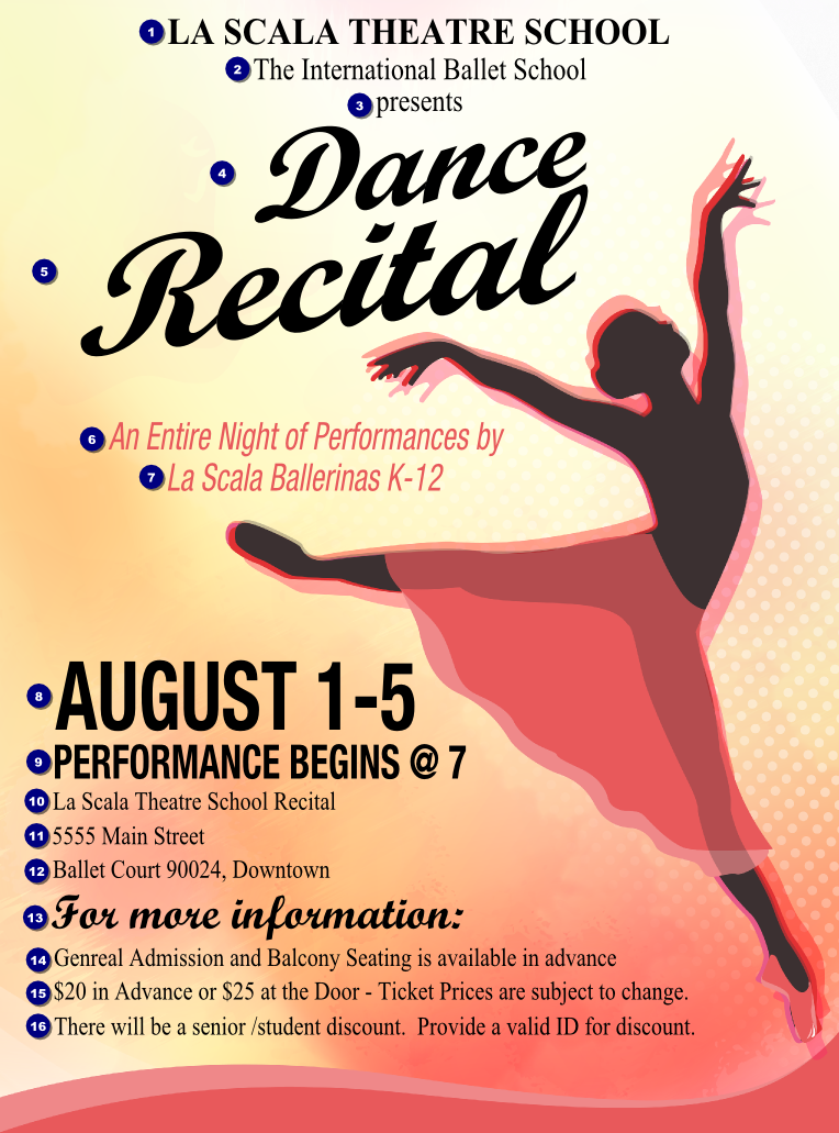 school dance flyer template