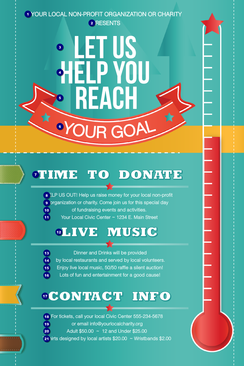 free fundraising template
