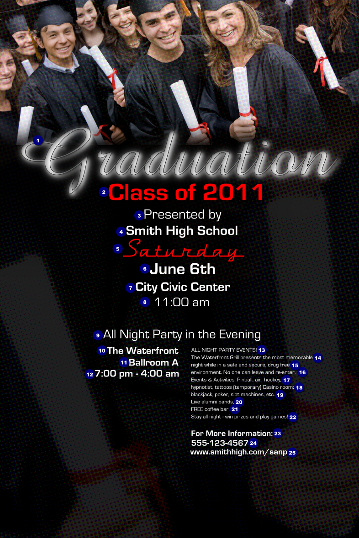 Senior Graduation Invitations as awesome invitation design