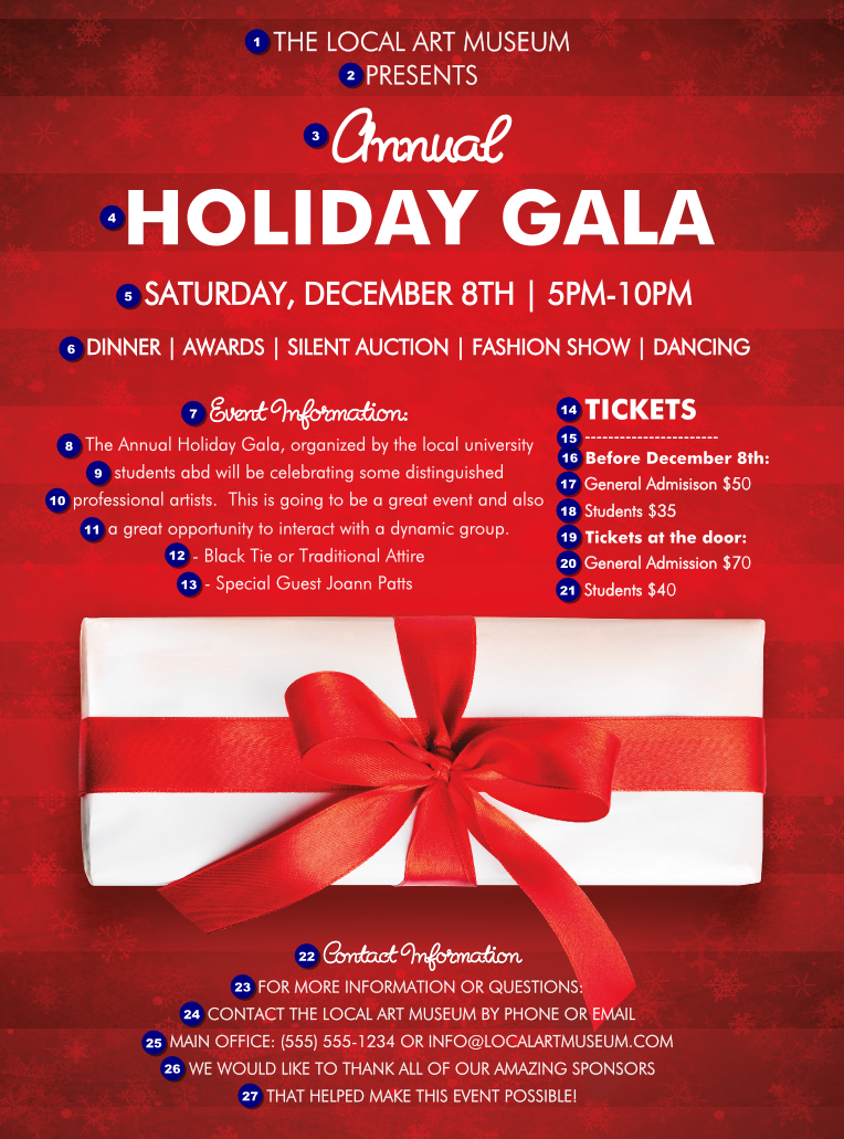 Holiday Gift Flyer Ticketprinting Com
