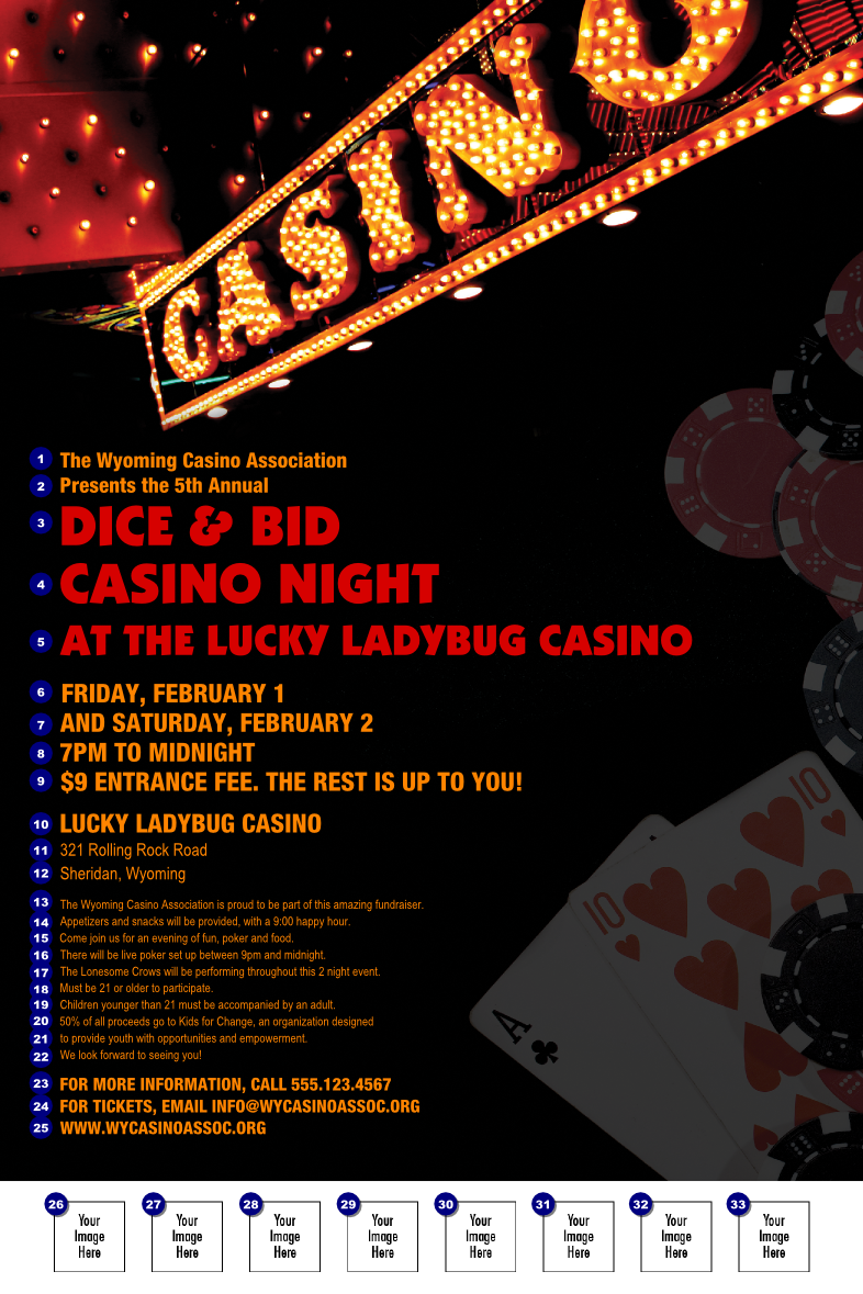 Casino Night Images Casino Night Poster With Image