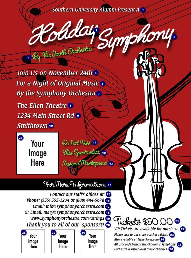 string symphony flyer