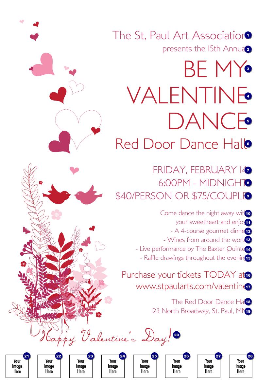 Searabkesen Valentines Event Poster