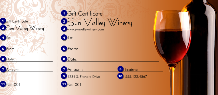 Wine tasting certificate template related keywords suggestions wine gift certificate ticketprintingcom yelopaper Image collections