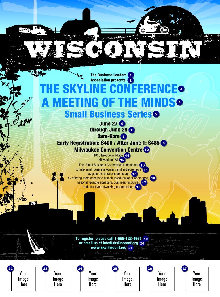 Wisconsin Flyer | TicketPrinting.com
