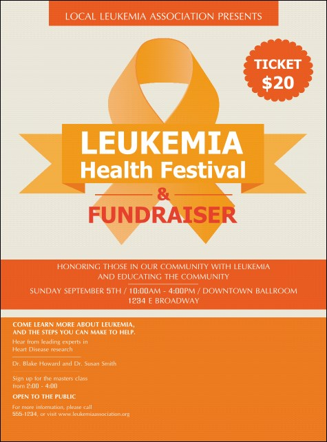 Leukemia Flyer