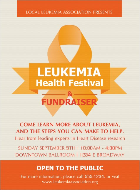 Leukemia Invitation