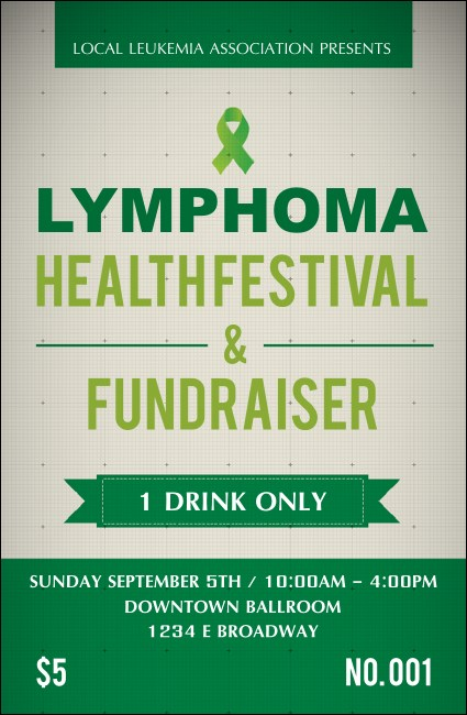 Lymphoma Drink Ticket