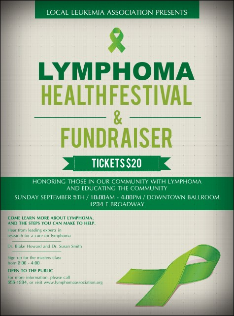 Lymphoma Flyer