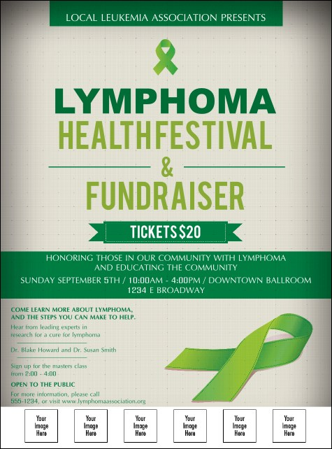 Lymphoma Logo Flyer