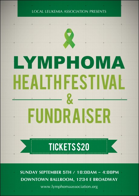 Lymphoma Postcard