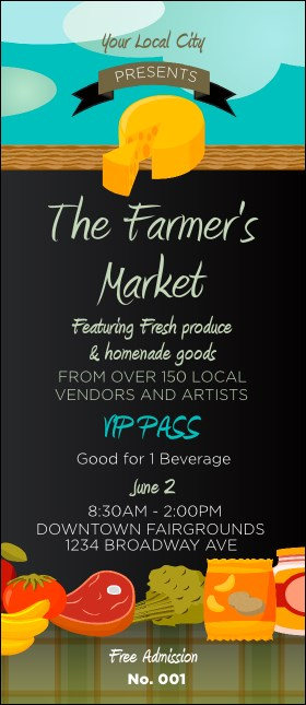 Farmer's Market VIP Pass Product Front