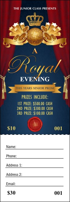 Royal Raffle Ticket