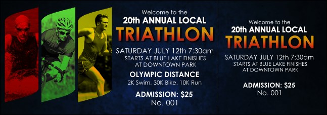 Triathlon Event Ticket