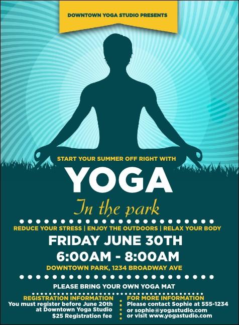 yoga meditation invitation