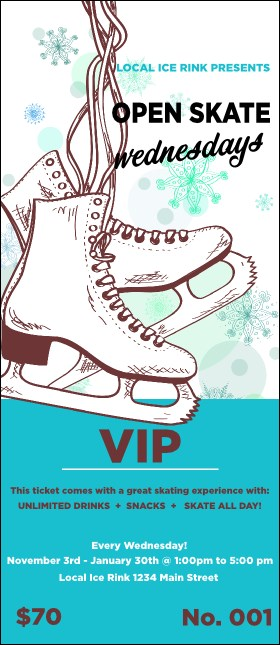 Ice Skating VIP Pass