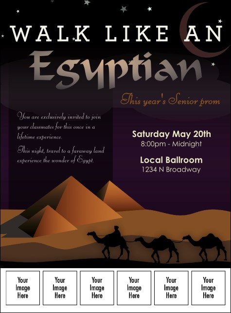 Egyptian Logo Flyer