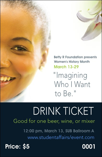 Women's Expo 4 Drink Ticket