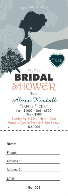 Bridal Raffle Ticket