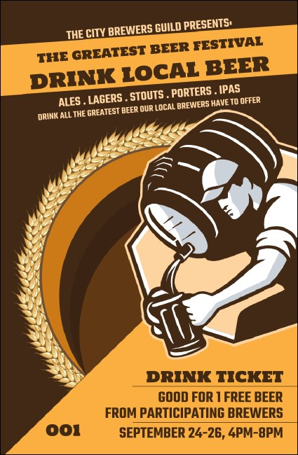 Beer Festival - Artisan Drink Ticket