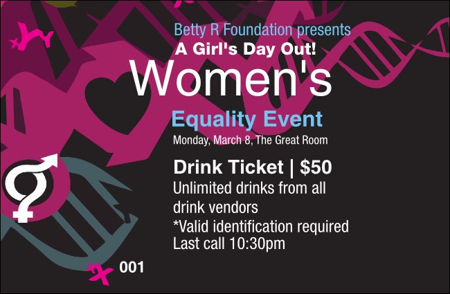 Equality Drink Ticket
