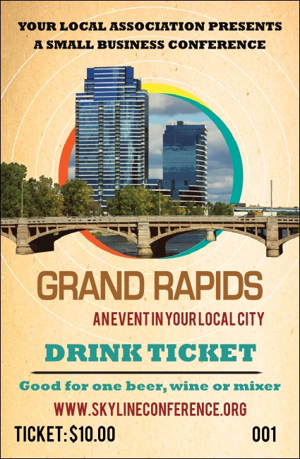 Grand Rapids Drink Ticket