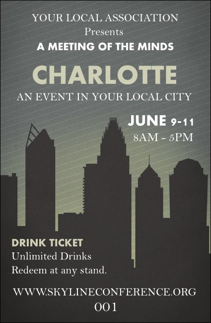 Charlotte Drink Ticket