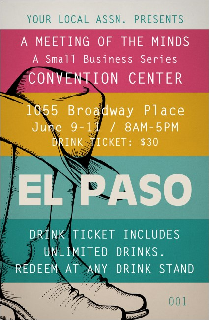 El Paso Drink Ticket