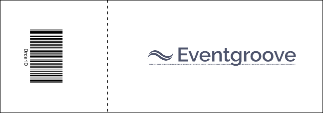 Outdoors Wedding Event Ticket