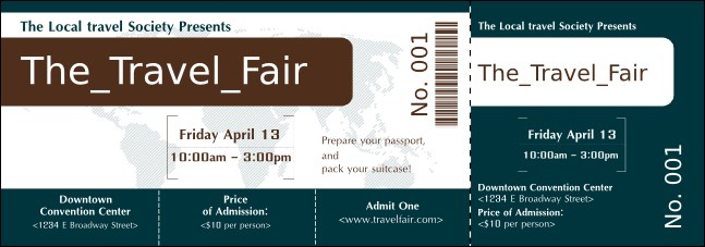 Airline Event Ticket