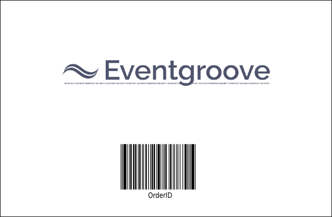 White Ribbon Photo Drink Ticket Product Back