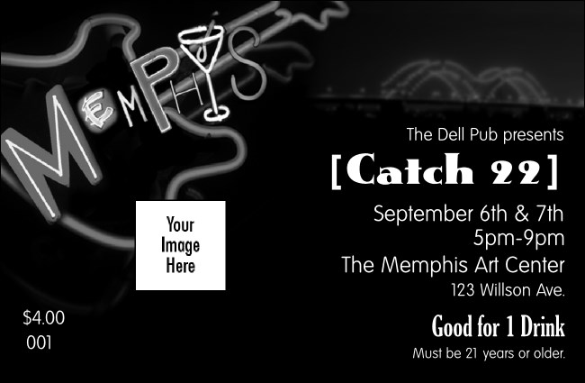 Memphis BW Drink Ticket