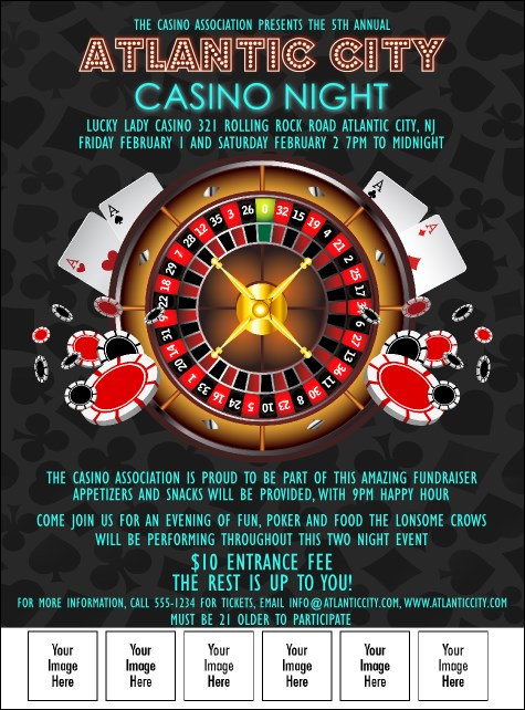Casino Logo Flyer