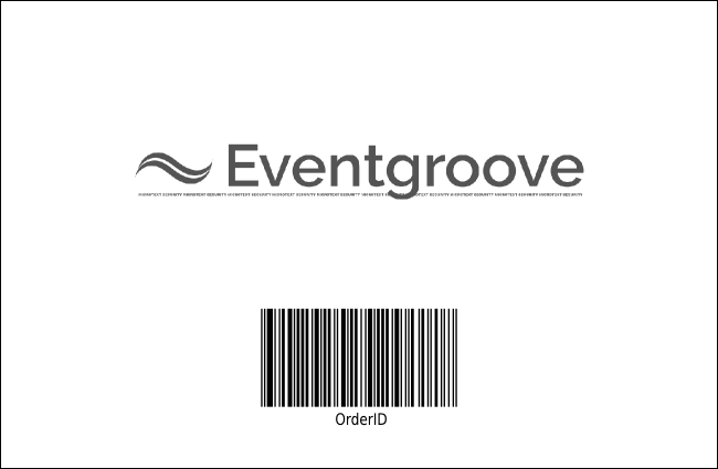 Hip Hop BW Drink Ticket Product Back