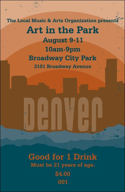 Denver Drink Ticket