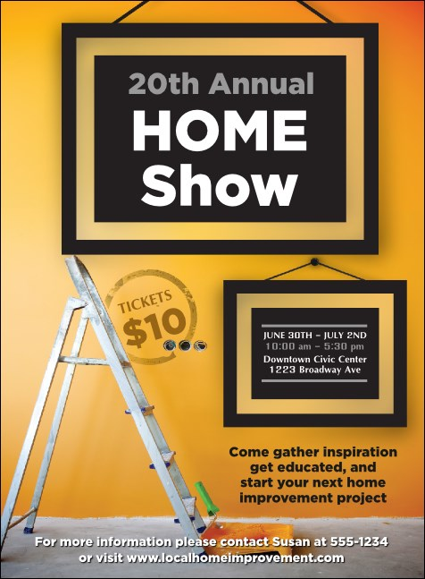 Home Makeover Invitation