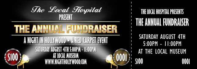 Hollywood Lights Event Ticket