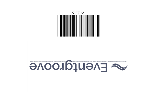 Gospel Drink Ticket Product Back