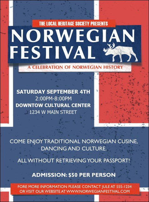 Norwegian Invitation