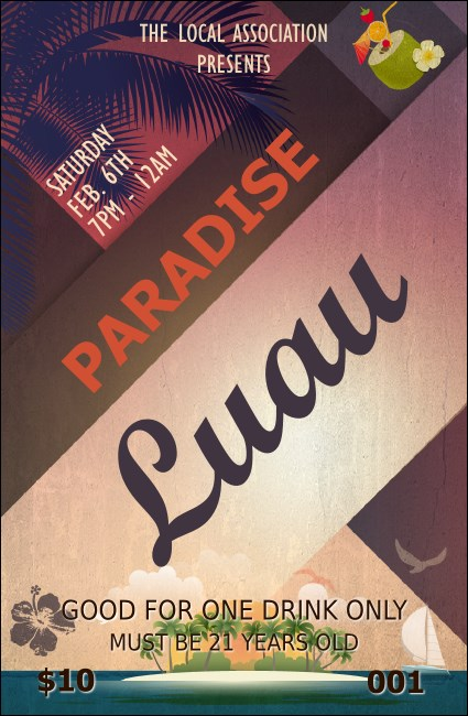 Paradise Drink Ticket