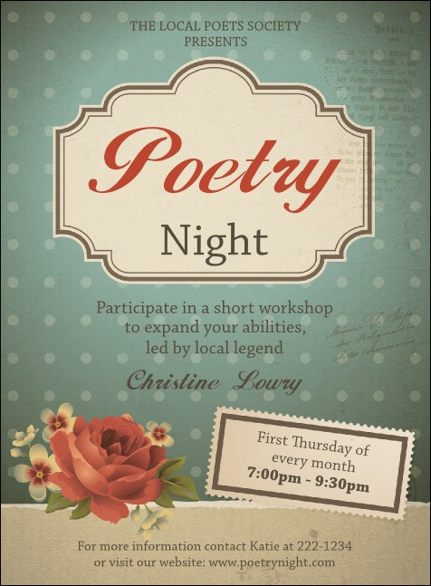 Poetry Invitation