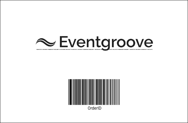 San Antonio Drink Ticket (Black and white) Product Back