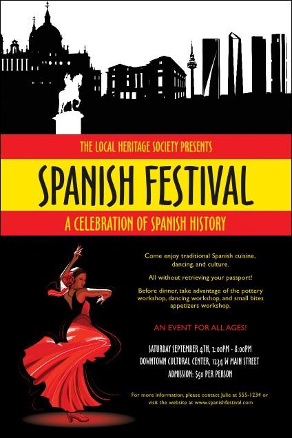 Spanish Festival Poster