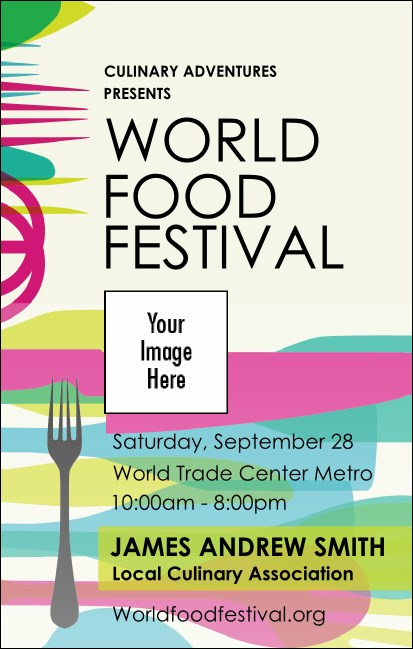 World Food Festival VIP Event Badge Medium