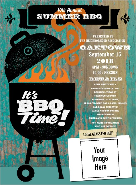 BBQ Kettle Grill Flyer