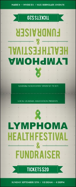 Lymphoma Table Tent