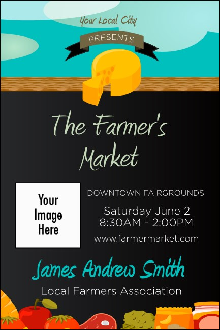 Farmer's Market Economy Event Badge